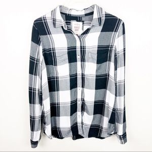 ABERCROMBIE & FITCH l Plaid Button Down